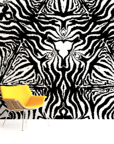 CATWALK ABSTRACT ANIMAL DIGITAL PRINT