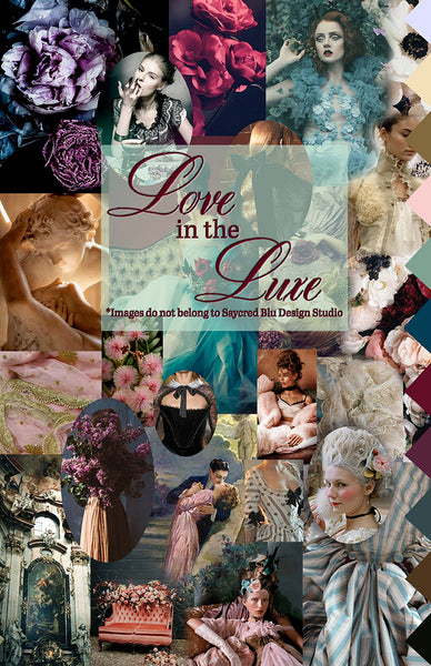 Love in the Luxe Mood Board