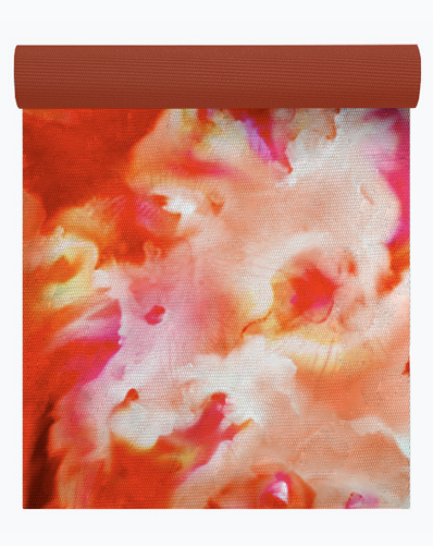 RUM PUNCH FLORAL ABSTRACT DIGITAL PRINT