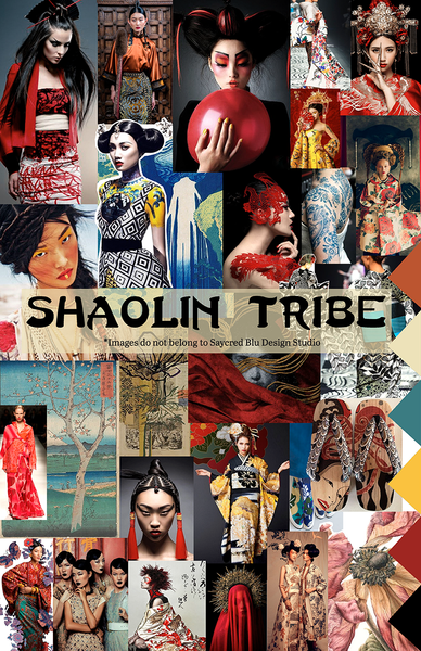Shaolin Tribe Mood Board