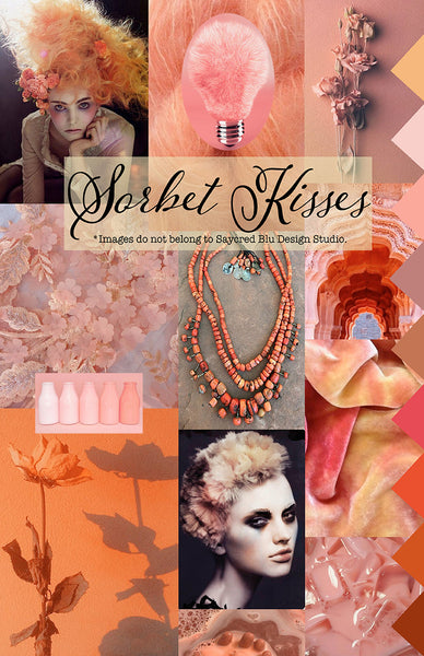 Sorbet Kisses Mood Board