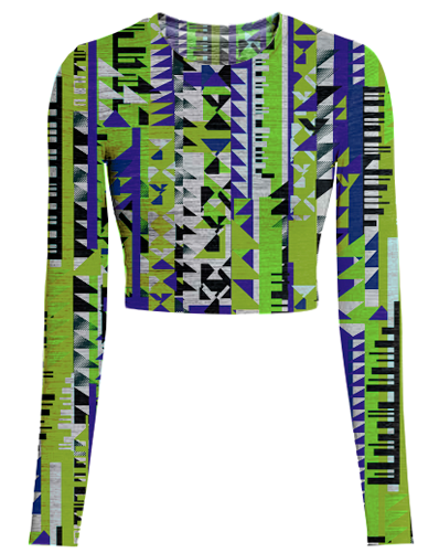 TRIP TRAXX GEO POP PRINTED FABRIC-rave