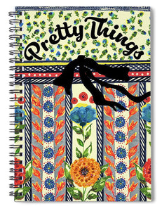 Pretty Things - Spiral Notebook