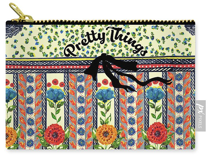 Pretty Things - Carry-All Pouch