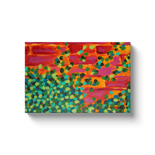 """CLIMBING IVY"" Canvas Wrapped Wall Decor"