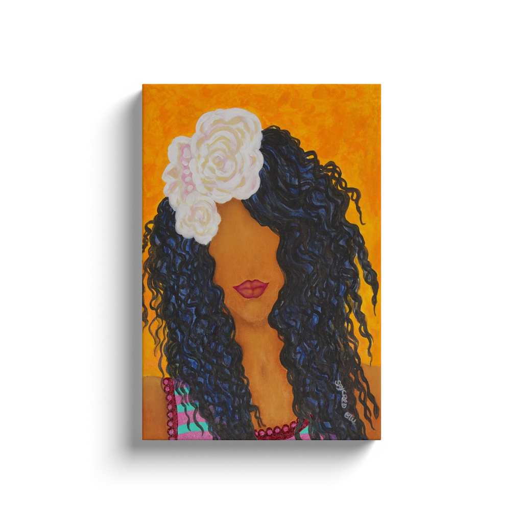 """GIRL IPANEMA""Canvas Wrapped Wall Decor"