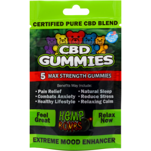 USA Hemp bomb CBD edibles