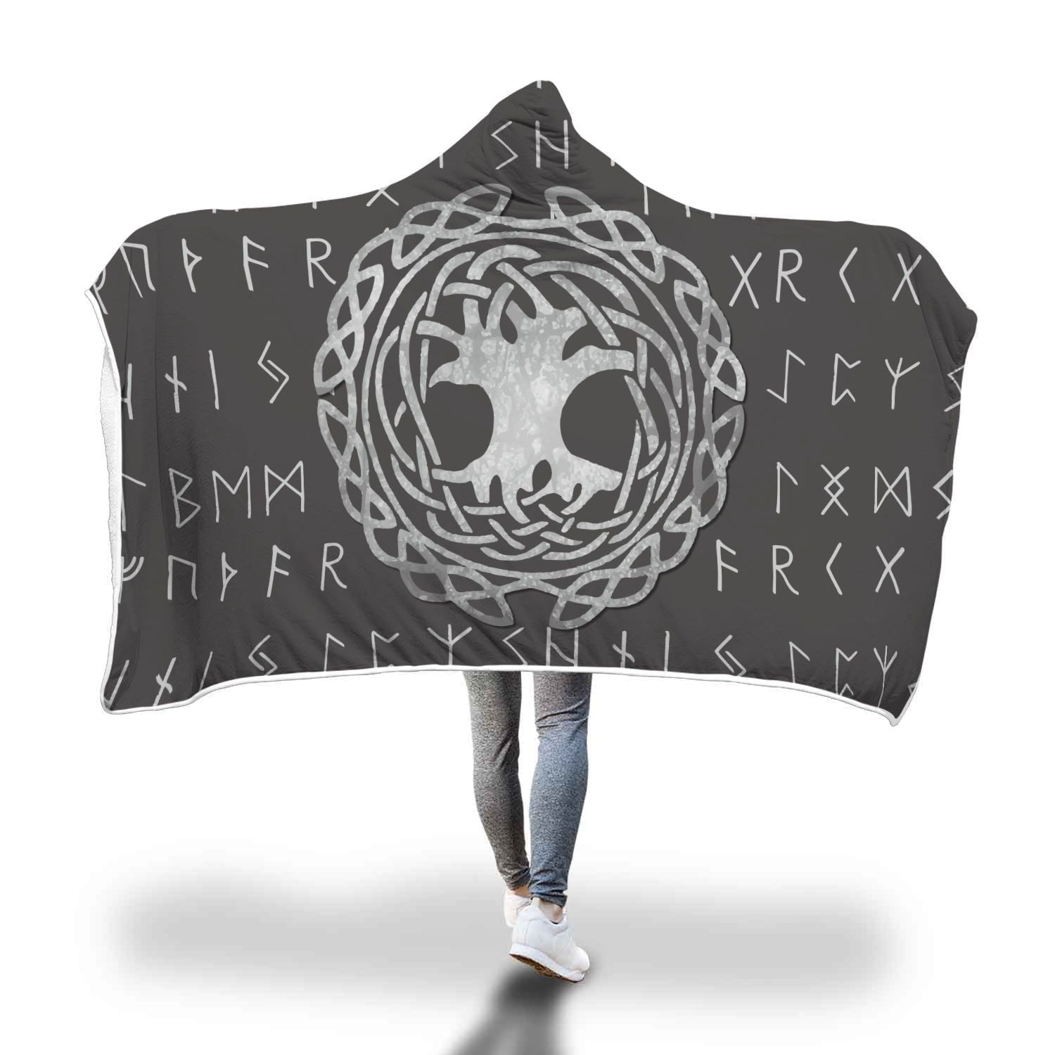 Yggdrasil Hooded blanket
