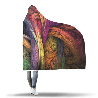 Yggdrasil colored hooded blanket