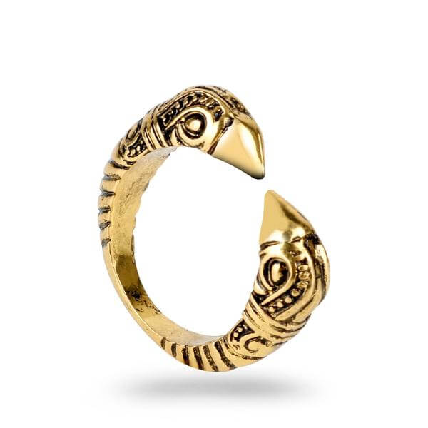Antique Viking Dragon Ring