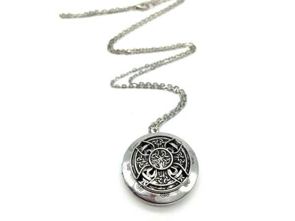 Antique Celtic Cross Locket
