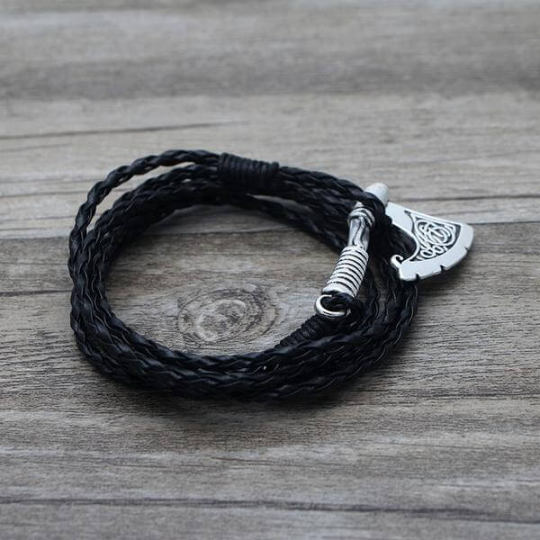Axe Wrap Anchor Viking Bracelet