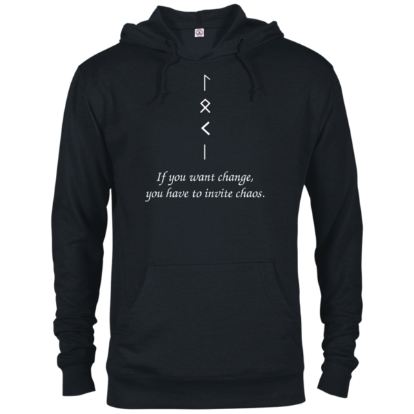 Change and Chaos Black Hoodie
