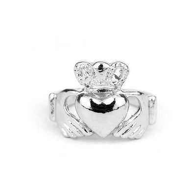 Claddagh Loyalty Ring silver