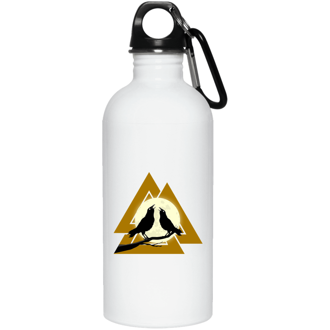 Valknaut Stainless Steel Water Bottle
