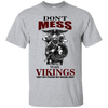 Don't mess with vikings sports grey T-Shirt