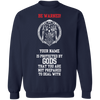 PROTECTED BY GODS VIKING SWEATSHIRT