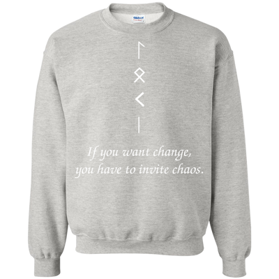 Change and Chaos Ash  Sweatshirt