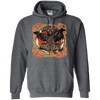 Huggin and Munnin Mjolnir Raven Dark Heather Hoodie