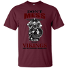 Don't mess with vikings maroon T-Shirt
