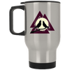 Valknaut Silver Stainless Travel Mug