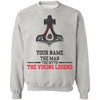 The man, the myth, the viking legend Sweatshirt