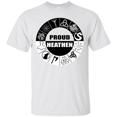 Proud Heathen Hoodie and T shirt