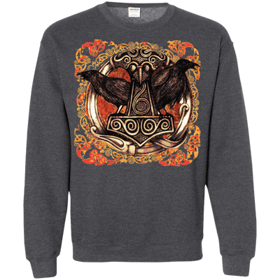Huggin and munnin dark heather Sweatshirt