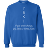 Change and Chaos Royal Sweatshirt