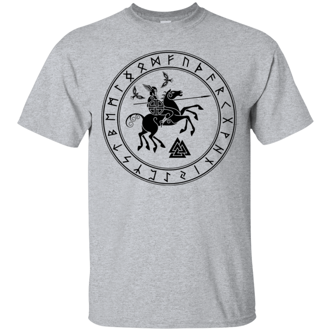 Odin Ultra Cotton Valknaut T-Shirt