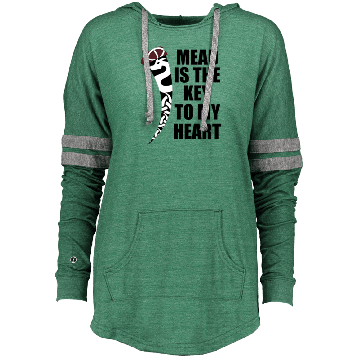 key to my heart Holloway Ladies Hooded Pullover