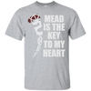 Mead is the Key to My Heart sports grey T-Shirt