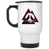 Valknaut White Travel Mug