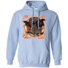 Huggin and Munnin Mjolnir Raven Light Blue Hoodie