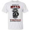 Don't mess with vikings white T-Shirt