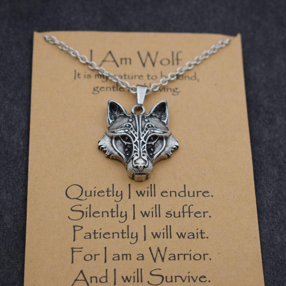 Fenrir Wolf Necklace