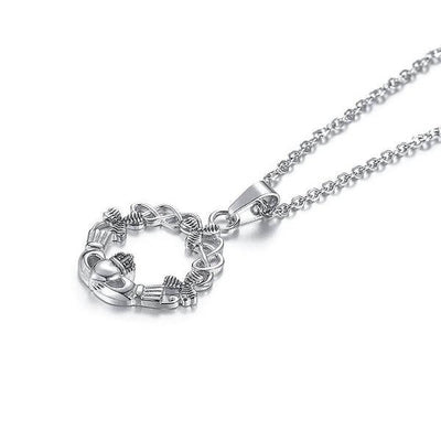 Claddagh Friendship Necklace