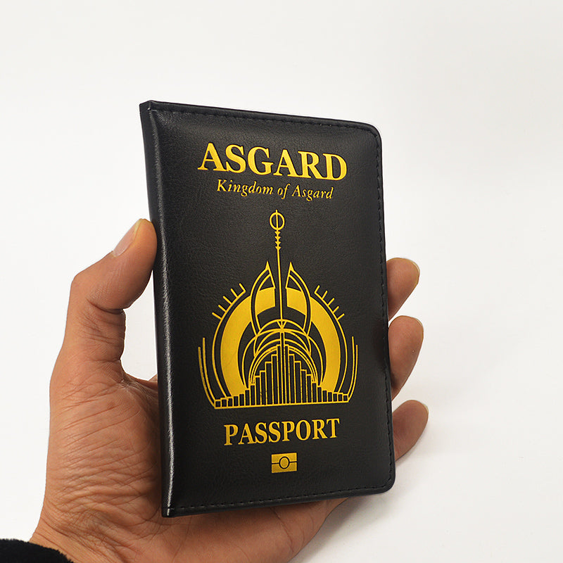 The Kingdom of Asgard Passport Cover