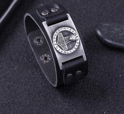 Thor Hammer Viking Bangle