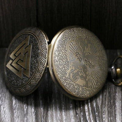 Valknut  Pocket Watch