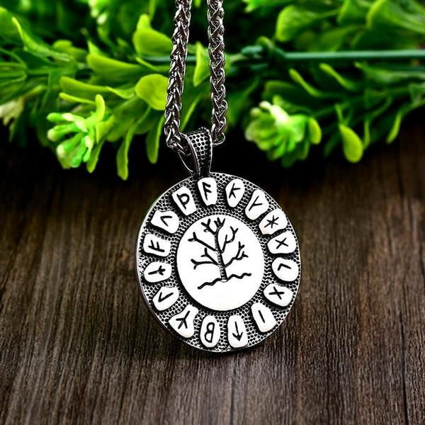 Viking Runes Necklace