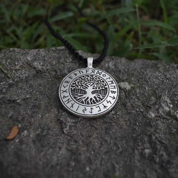 Yggdrasil Runic Necklace