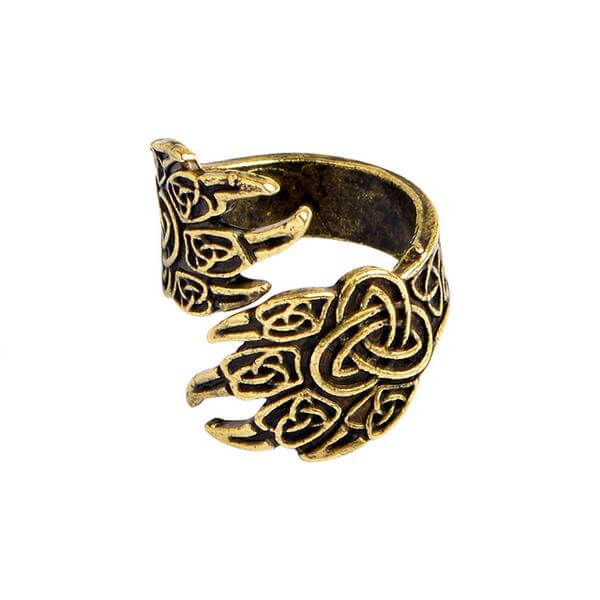 Bear's paw  viking Ring