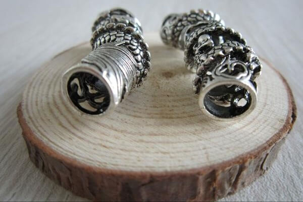 5Pcs/Lot Norse Dragon beard  beads