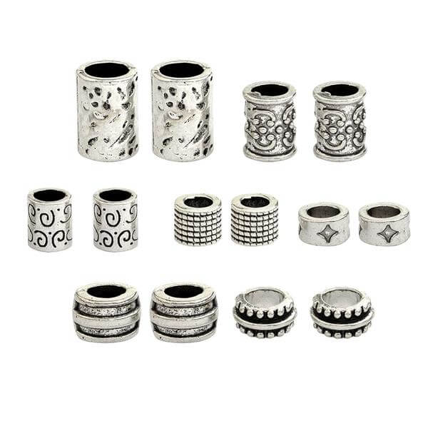 Dreadlock beads/ 7pcs set