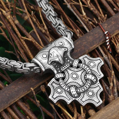 Nordic Thor hammer  necklace