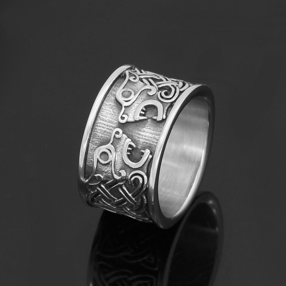 Nordic  Celtic Knot Ring