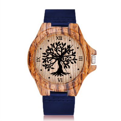 The Great Yggdrasil Handmade Wooden  Watch