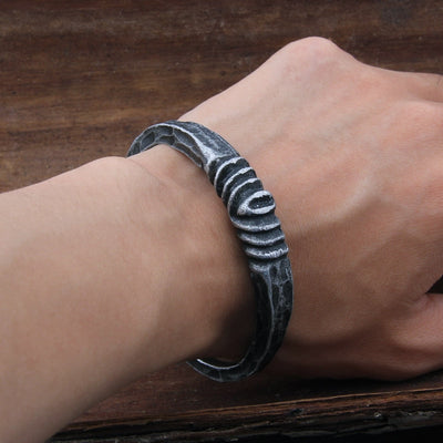 Hand Forged viking Bracelet