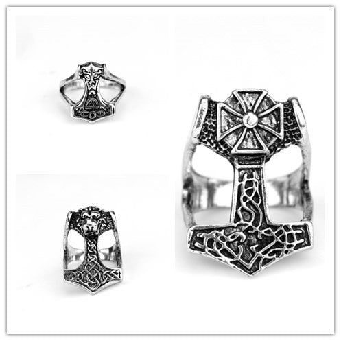 Mjolnir Celtic Ring
